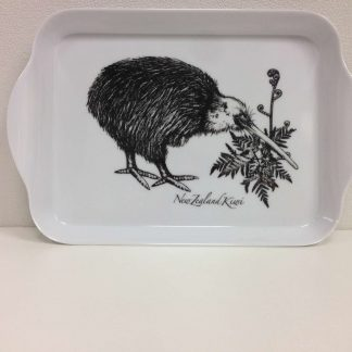 Black & White Kiwi Tray