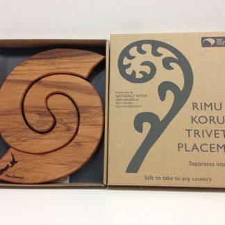 Rimu set of 2 Trivets - NZ
