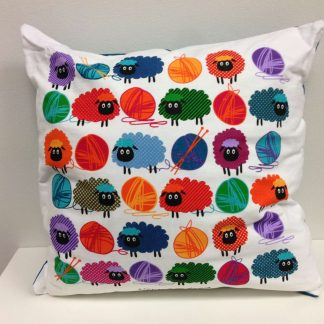 Woolly Bright Cushion Cover
