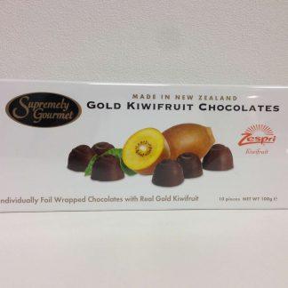 Gold Kiwifruit Chocolates