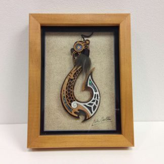Framed Fish Hook