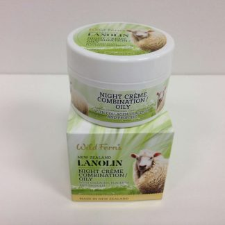 Wild Ferns Lanolin Night Creme