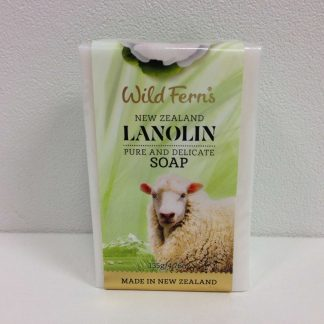 Wild Ferns Lanolin Soap