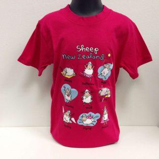 Sheep New Zealand T-shirt