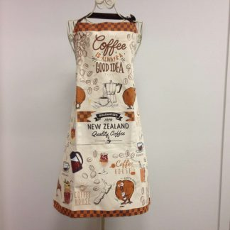 Coffee Kiwis Apron