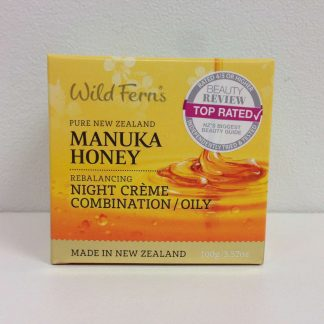 Wild Ferns Manuka Honey Rebalancing Night Creme