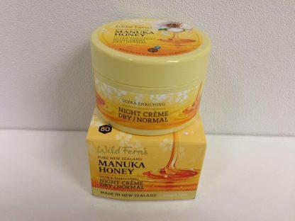 Wild Ferns Manuka Honey Enriching night creme