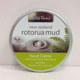 Wild Ferns Rotorua Mud Hand Creme