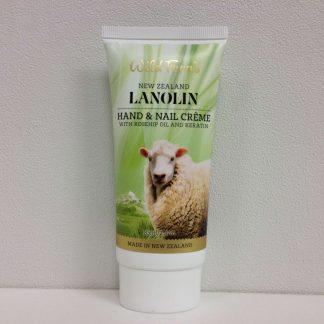 Wild Ferns Lanolin Hand & Nail Creme