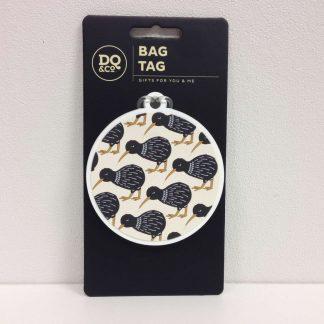 Charming Kiwi Bag Tag
