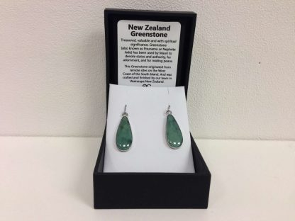 Greenstone Teardrop Earrings