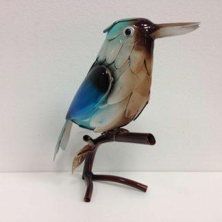 blue metal kingfisher