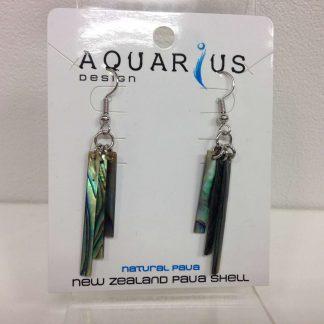 Paua Windchime earrings