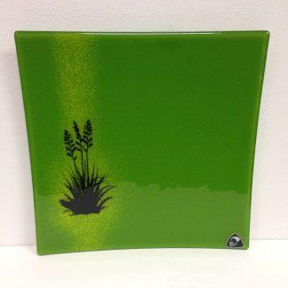 Square Flax Bush Platter