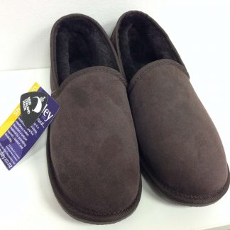 New Zealand made Montague sheepskin slippers