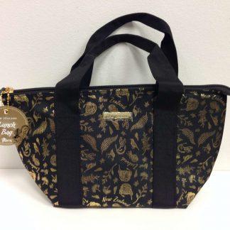 Black & Gold Lunch Bag