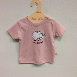 Babies Sheep pink T-shirt
