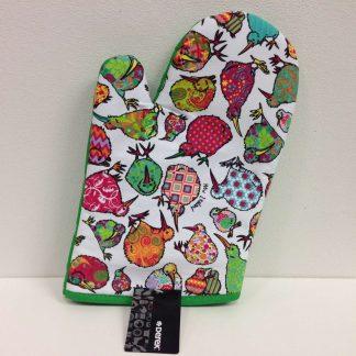 Kaleidoscope Kiwi Oven Glove