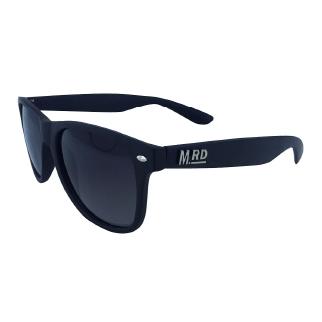 Moana Road Black Plastic Fantastic Sunglasses