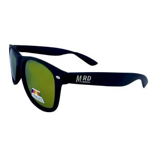 Moana Road Black Plastic Fantastic Sunglasses with Polarised Lenses