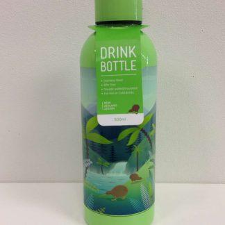 NZ Scene Kiwi metal drink bottle.