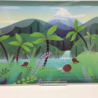NZ Scene Kiwi Melamine Tray
