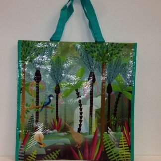 NZ Scene Birds & Bush Shopping Bag