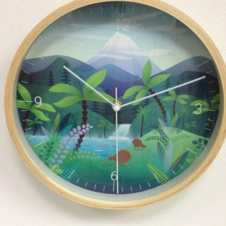 NZ Scenic Kiwi Clock