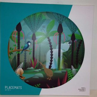 NZ Scene Birds & Bush Placemats