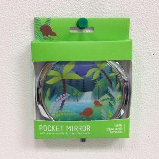NZ Scene Kiwi Pocket Mirror