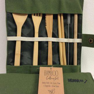Moana Road Bamboo Cutlery Set