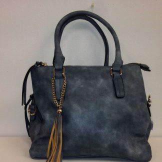 Zoes blue/grey handbag