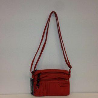 Bella Ricca Orange Cross Body Bag
