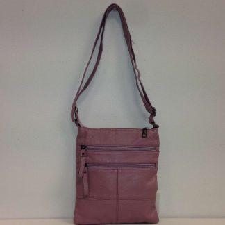 Zoes Dusky Pink Shoulder Bag