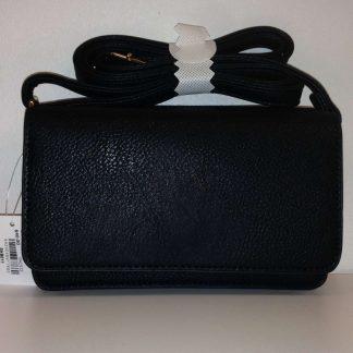 Aly Crossover Handbag - Black