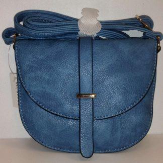 Lilah Mini Oval Handbag - Blue
