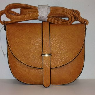 Lilah Mini Oval Handbag - orange