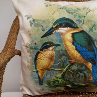 Cushion Cover - Kingfisher.