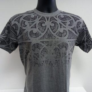 Grey Marl Tattoo T Shirt