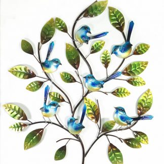 Fantails on Branches Wall Hanging