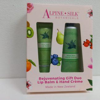 Alpine Silk Botanicals Aloe Vera Gift Duo