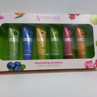 Alpine Silk Botanicals Lip Balm Gift 6 Pack