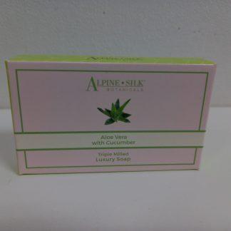 Alpine Silk Botanicals Luxury Aloe Vera Soap